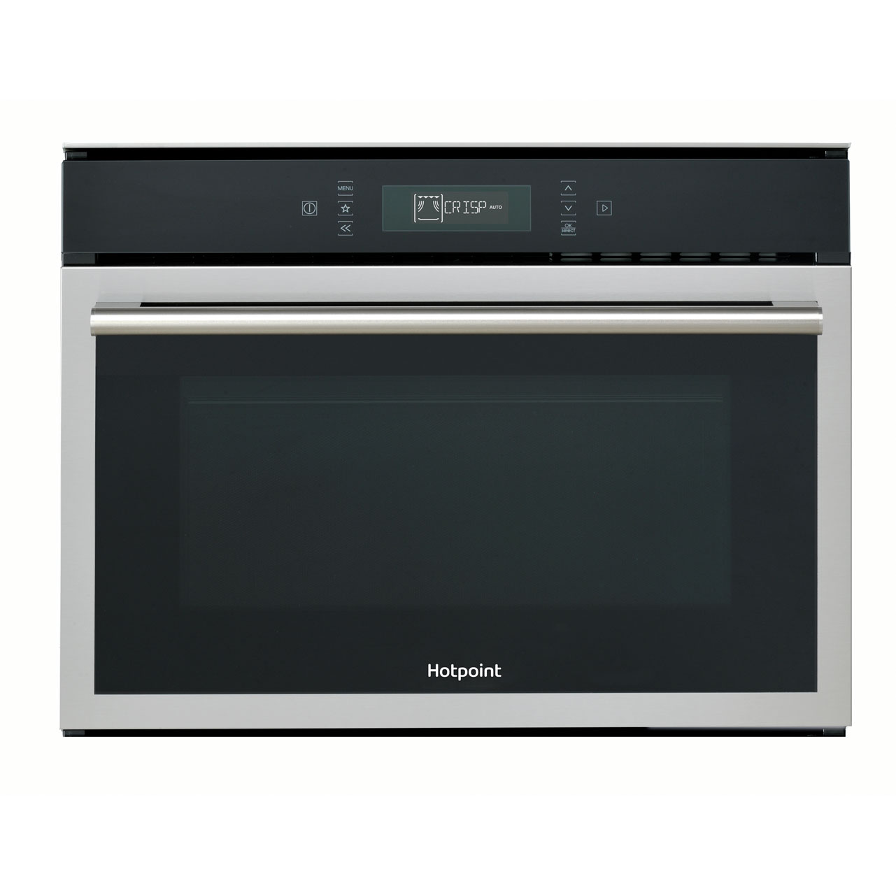 Hotpoint Class 6 MP676IXH Integrated Microwave Oven in Stainless Steel