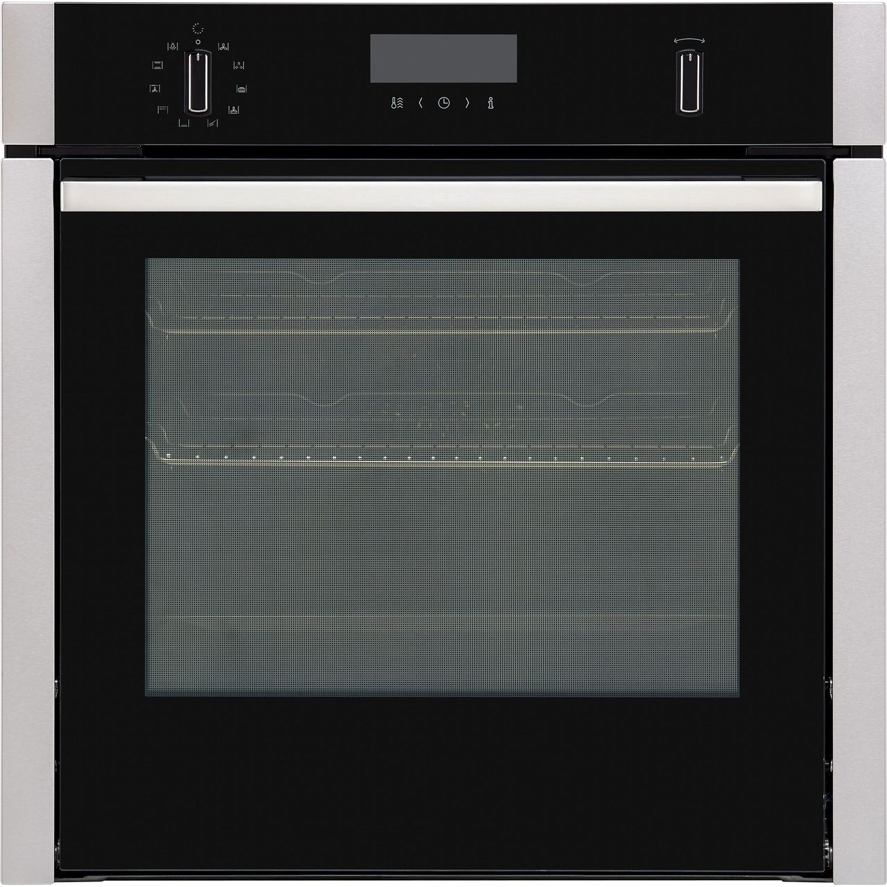 Neff N50 Slidehide B6ach7hn0b Built In Electric Single Oven Stainless Steel A Rated