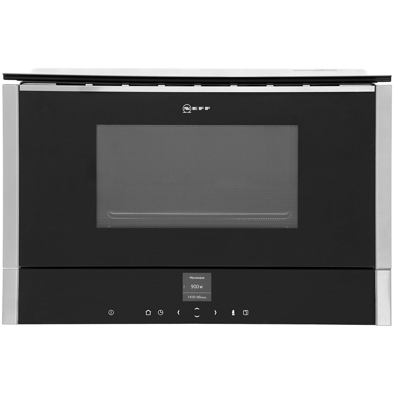 Neff C17WR00N0B Integrated Microwave Oven in Stainless Steel