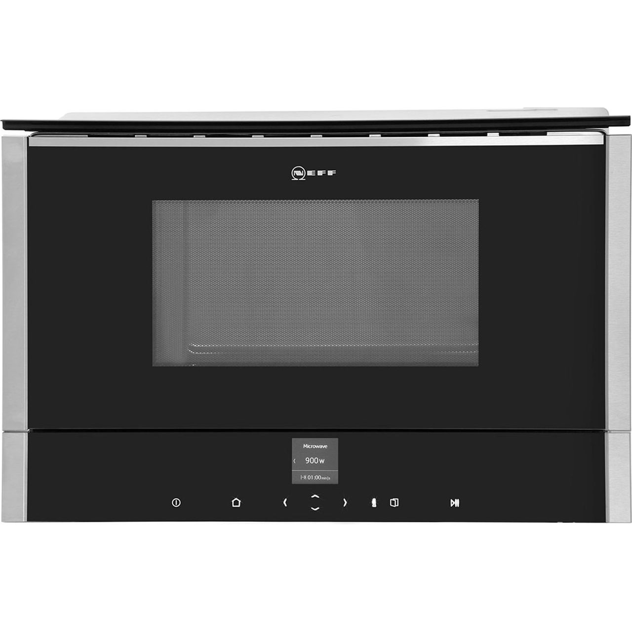 Neff C17WR01N0B Integrated Microwave Oven in Stainless Steel