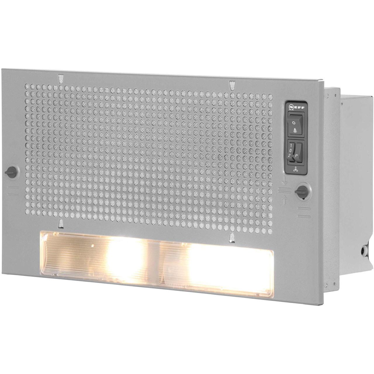 Neff D5625X0GB Integrated Cooker Hood in Silver