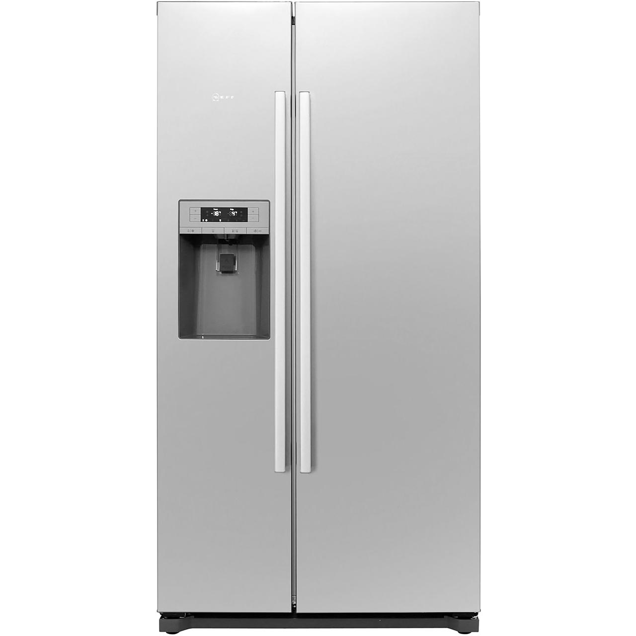 Neff Ka3902i20g American Fridge Freezer Stainless Steel