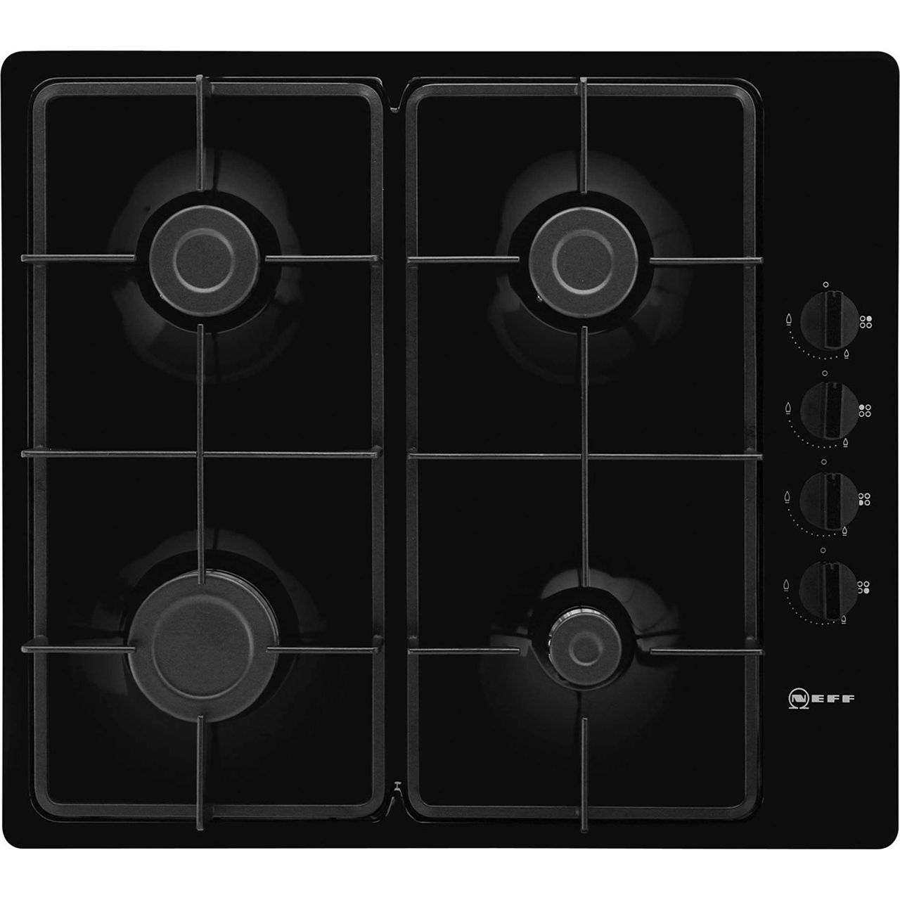 Neff T26BR46S0 Integrated Gas Hob in Black