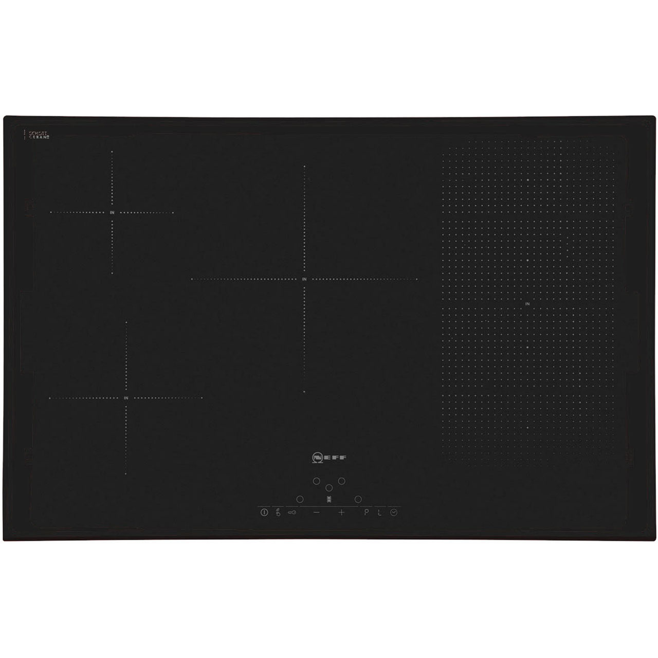 Neff T51D86X2 Integrated Electric Hob in Black