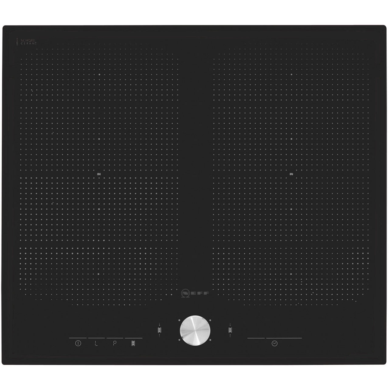 Neff T51T55X2 Integrated Electric Hob in Black