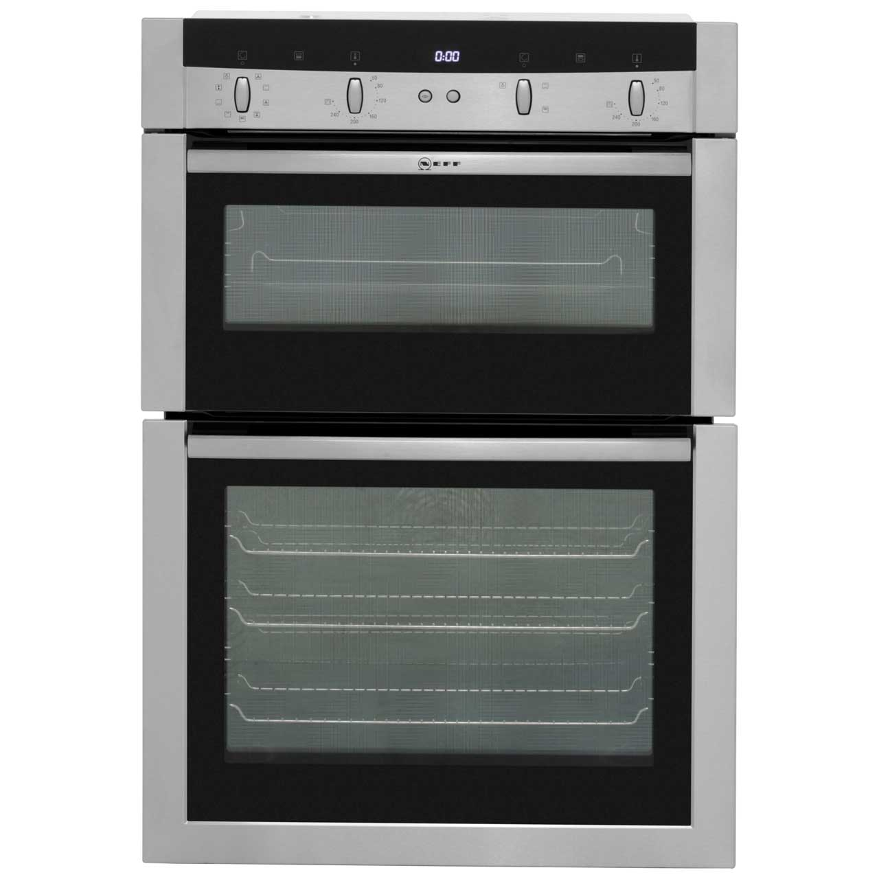 Neff Classic Collection 2 U15M52N3GB Built In Double Oven - Stainless Steel