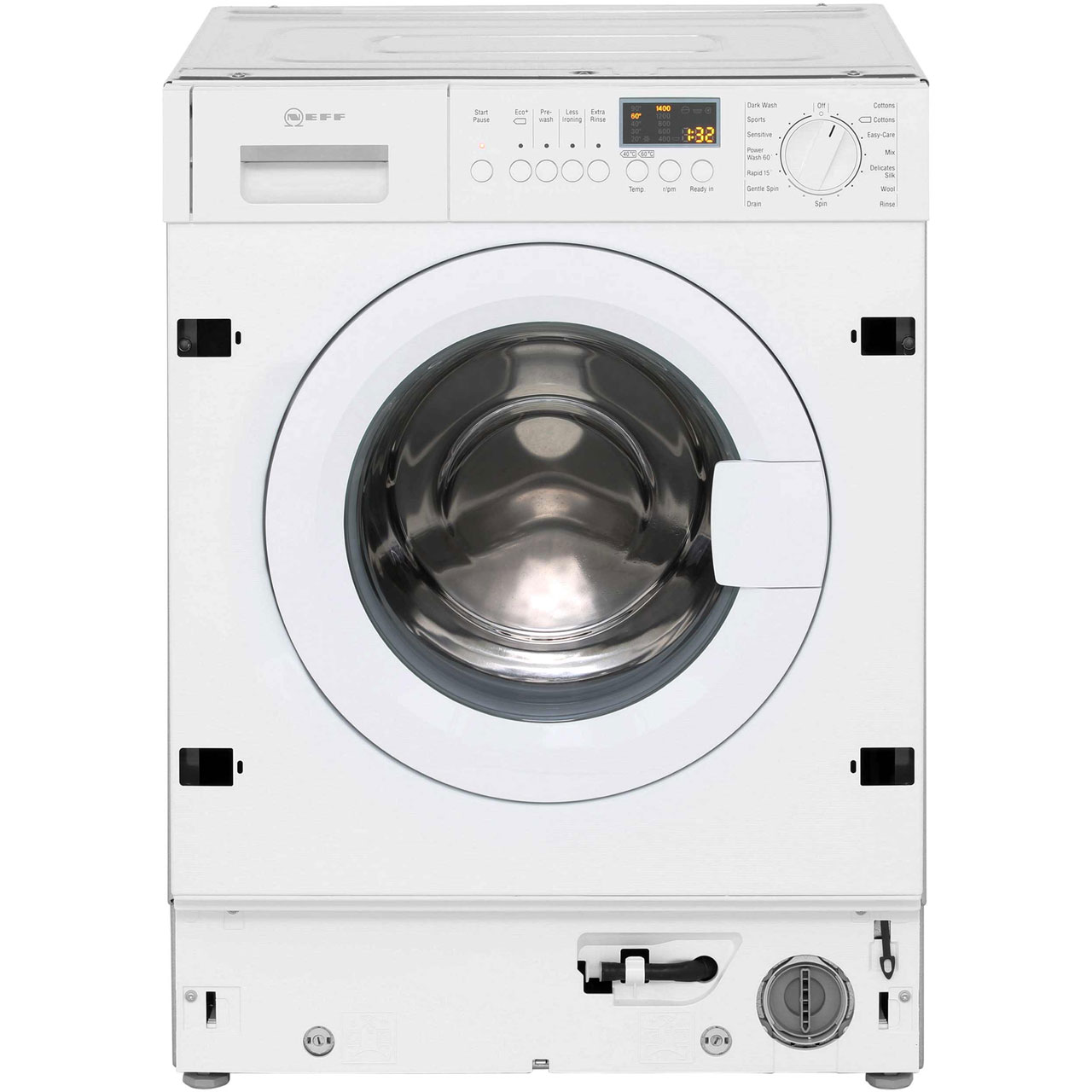 Neff W5440X1GB Integrated Washing Machine in White