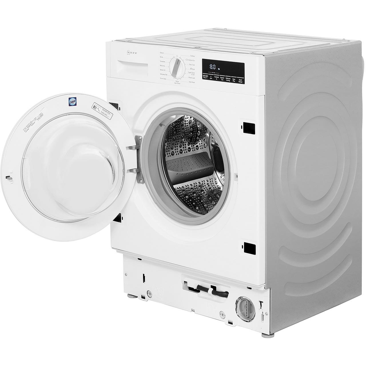 Neff W544bx0gb A    Rated 8kg 1400 Rpm Washing Machine