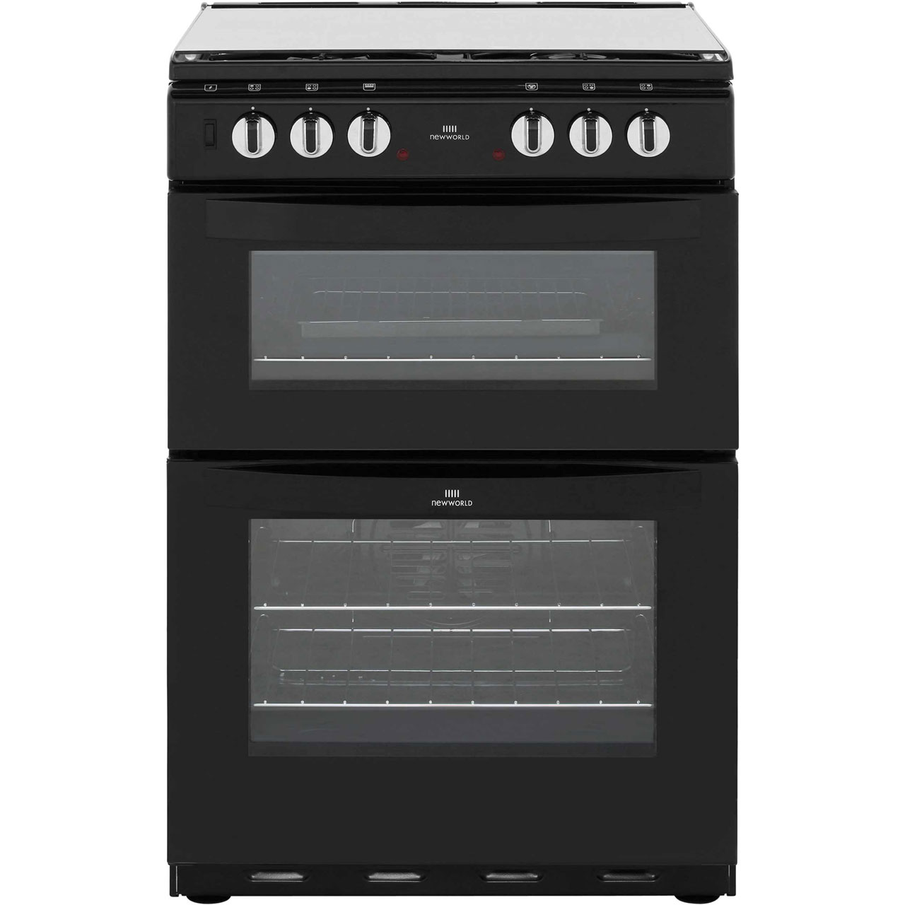 Newworld NW601DFDOL Dual Fuel Cooker - Black
