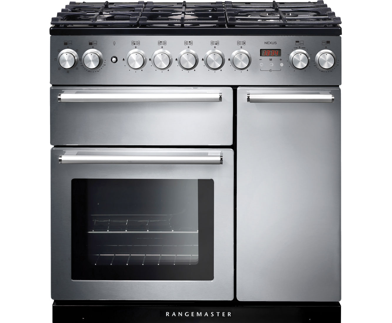 rangemaster nexus nex90dffss c 90cm dual fuel range cooker. Black Bedroom Furniture Sets. Home Design Ideas