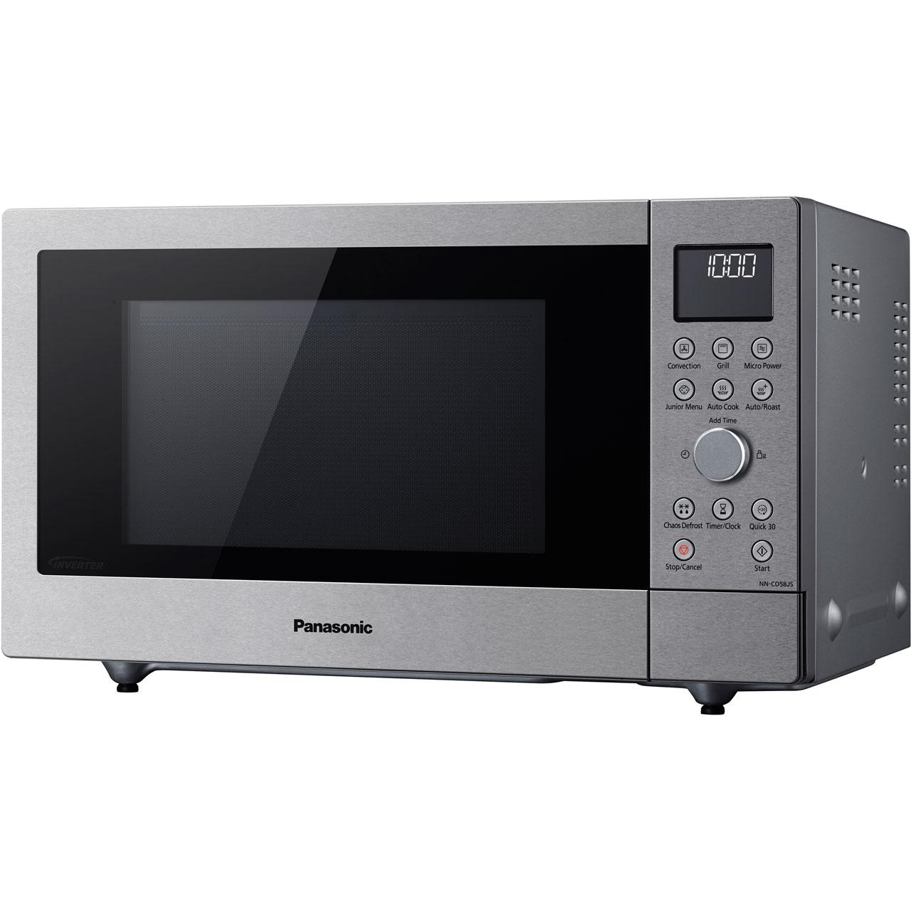 Panasonic Nn Cd58jsbpq 1000 Watt Microwave Free Standing