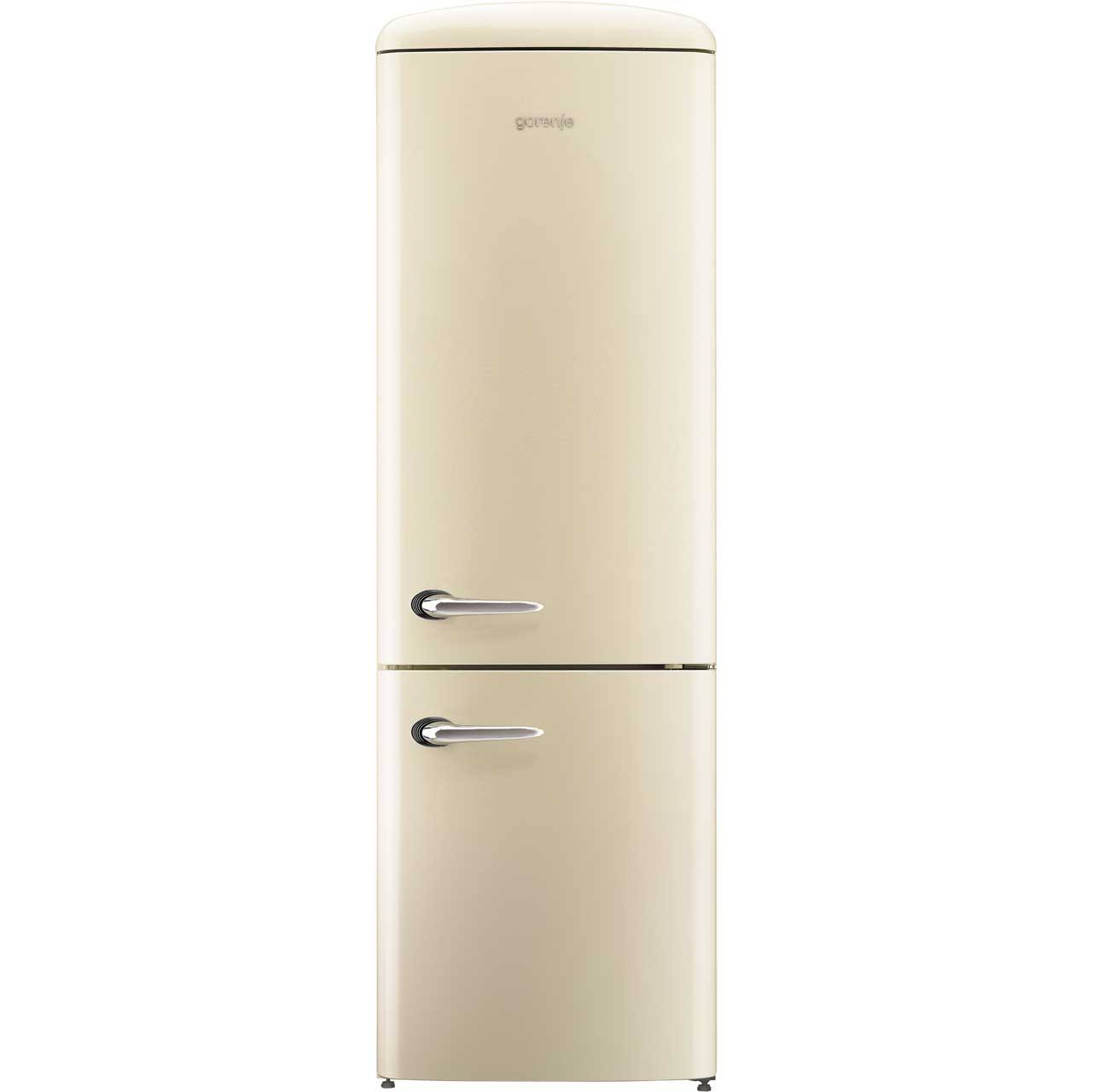 Gorenje Retro Collection NRKO6193C Free Standing Fridge Freezer Frost Free in Cream