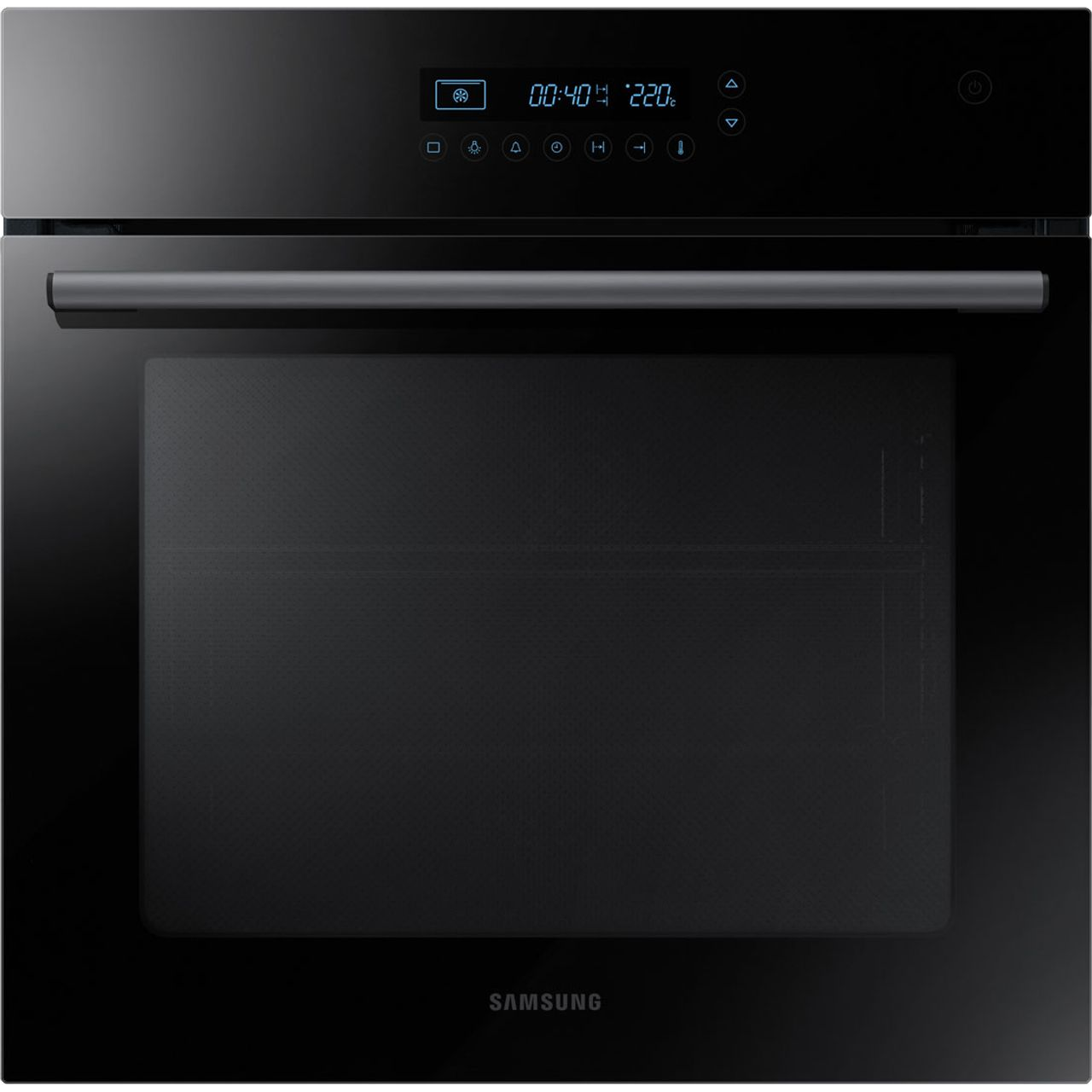 samsung nv70h5587cb built in 60cm electric single oven. Black Bedroom Furniture Sets. Home Design Ideas