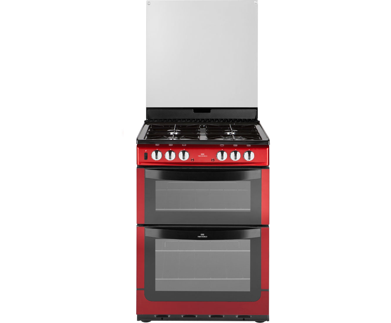 Newworld NW601DFDOL Dual Fuel Cooker - Red