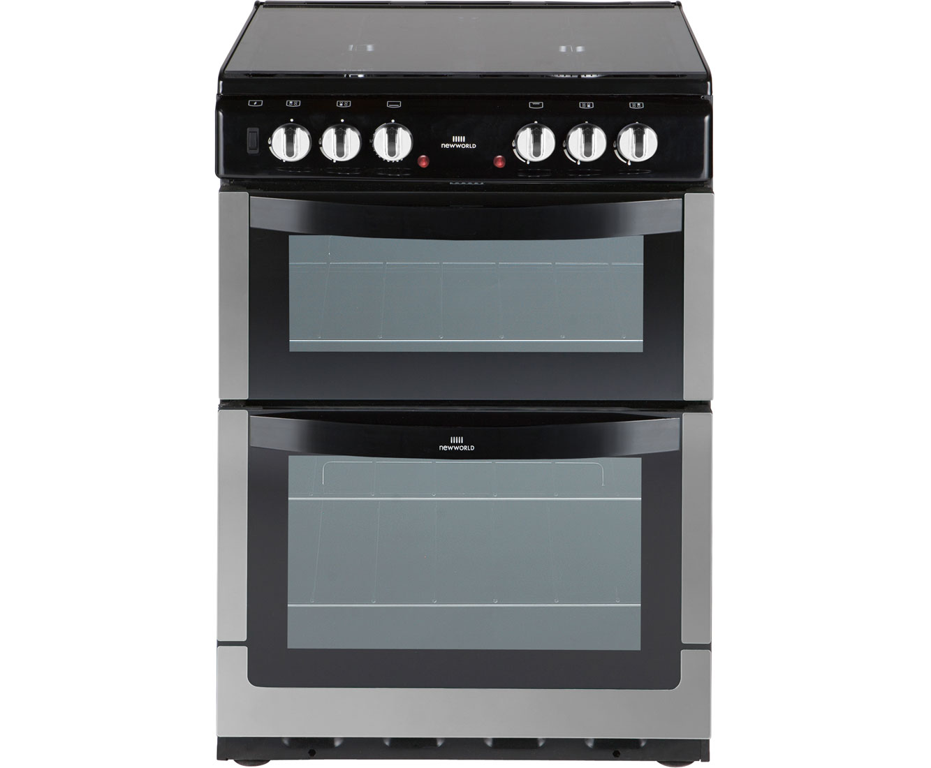 Newworld NW601DFDOL Dual Fuel Cooker - Stainless Steel
