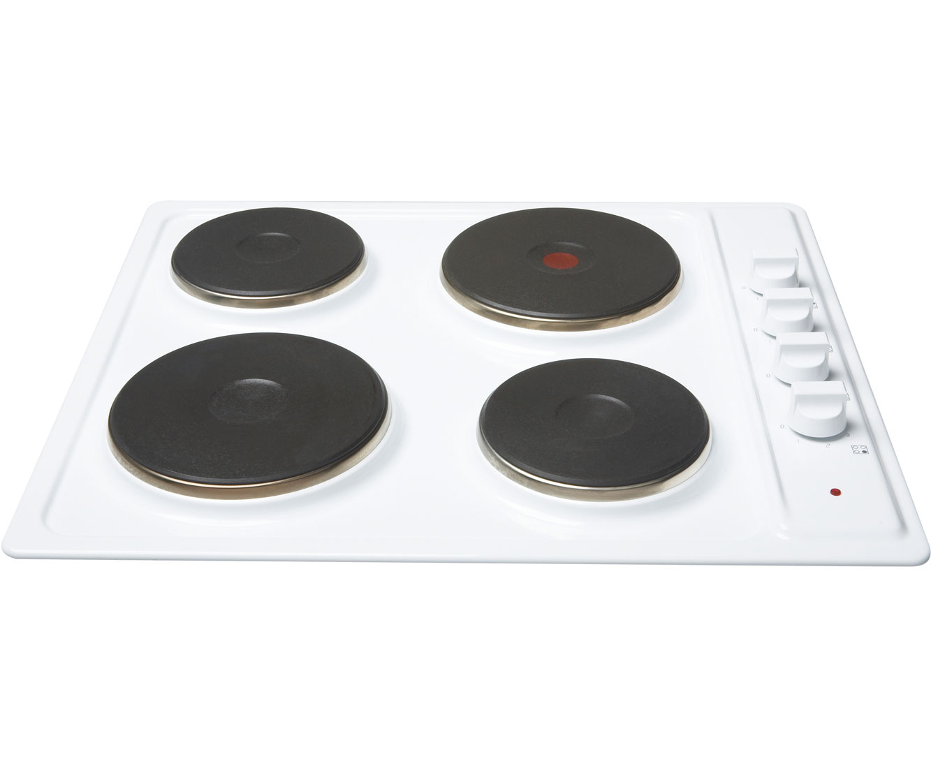Newworld NWSHU60Mk2WHI Integrated Electric Hob in White