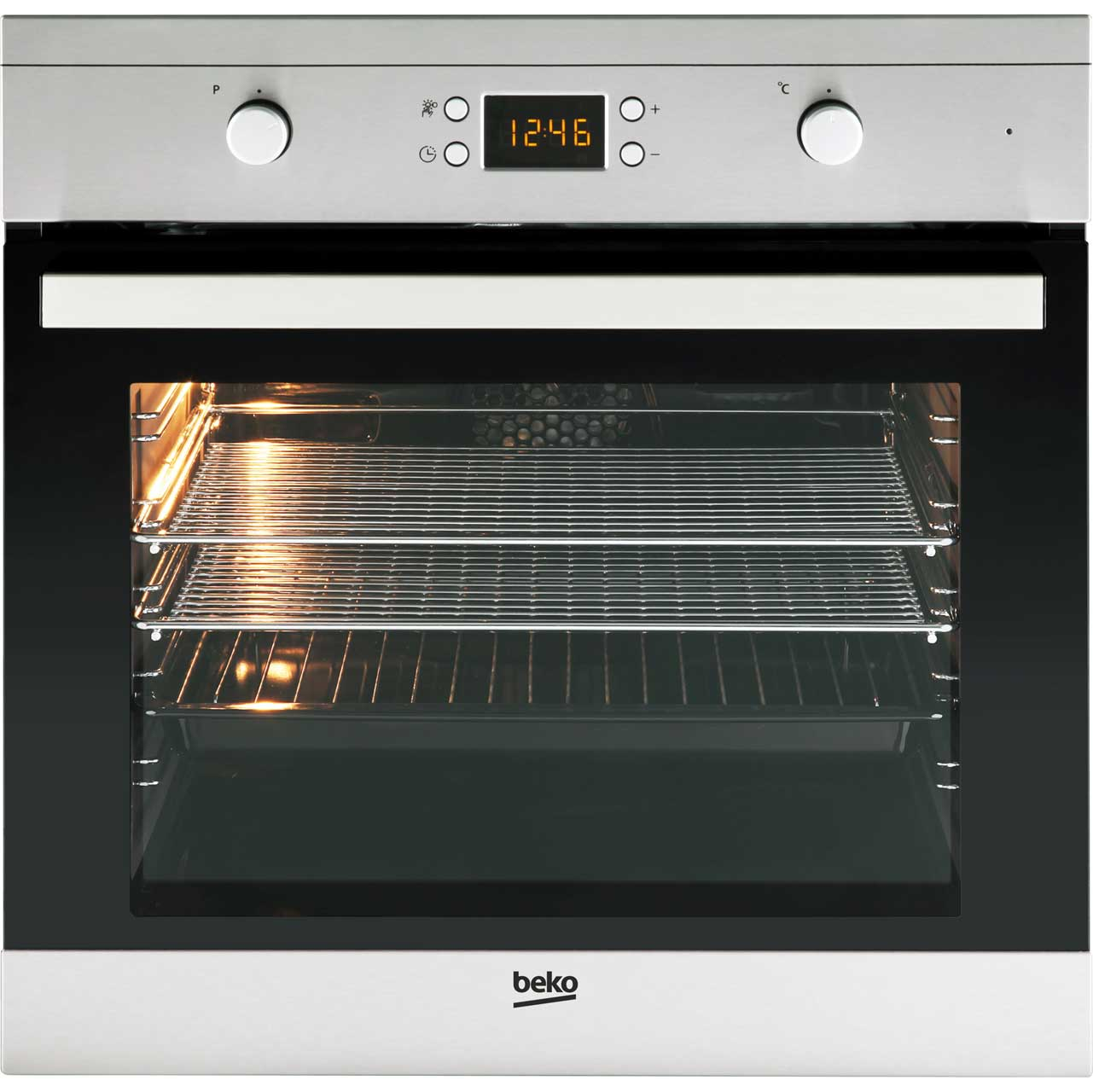 Beko OIF22309X Built In Electric Single Oven - Stainless Steel