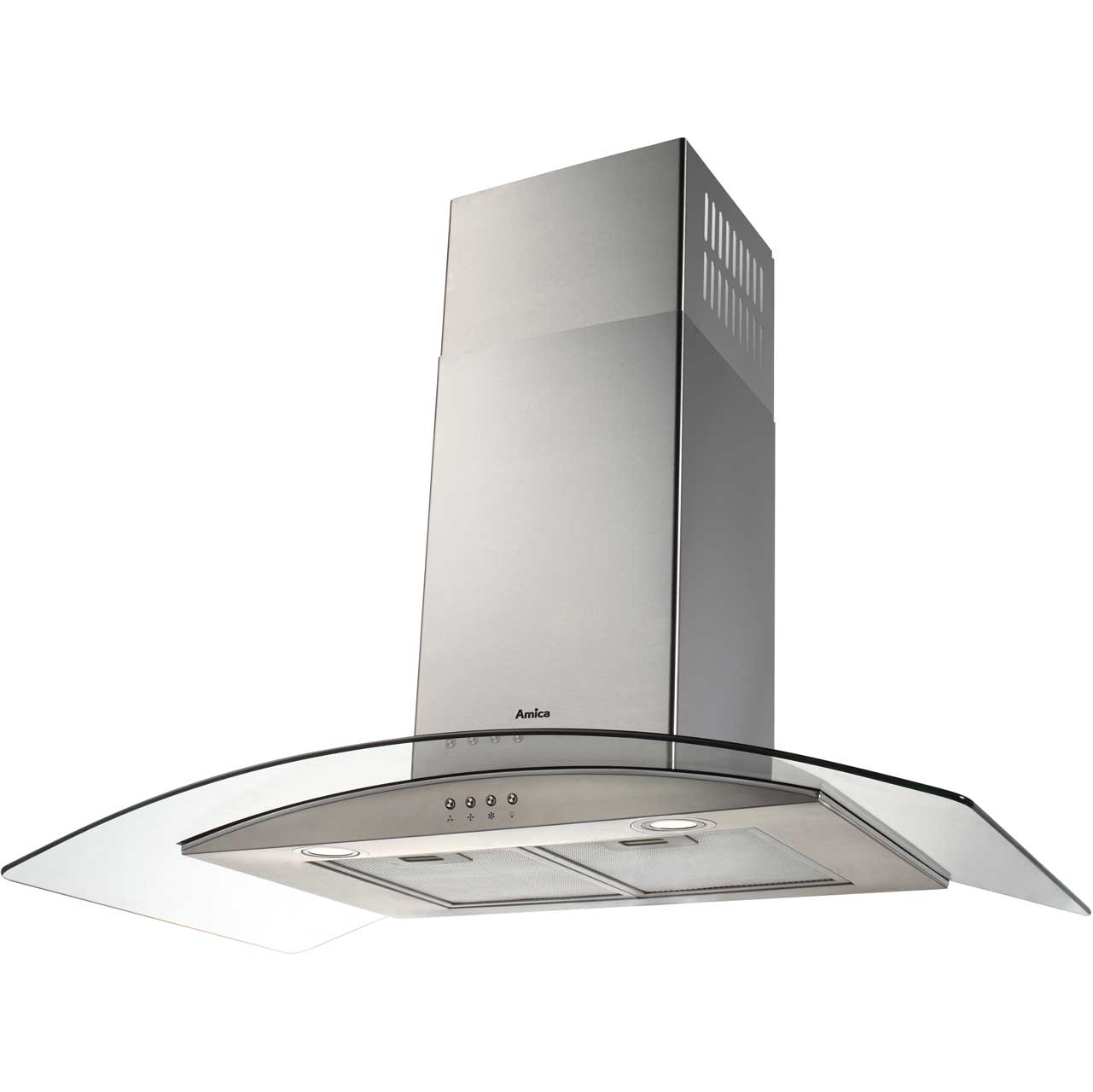 Amica OKP931G Integrated Cooker Hood in Stainless Steel