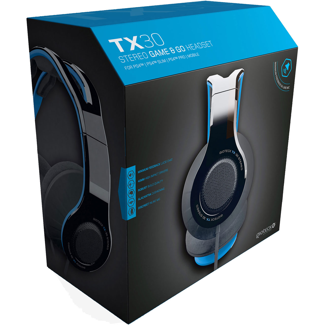TX 30 Stereo Gaming & Go Headset (PS4