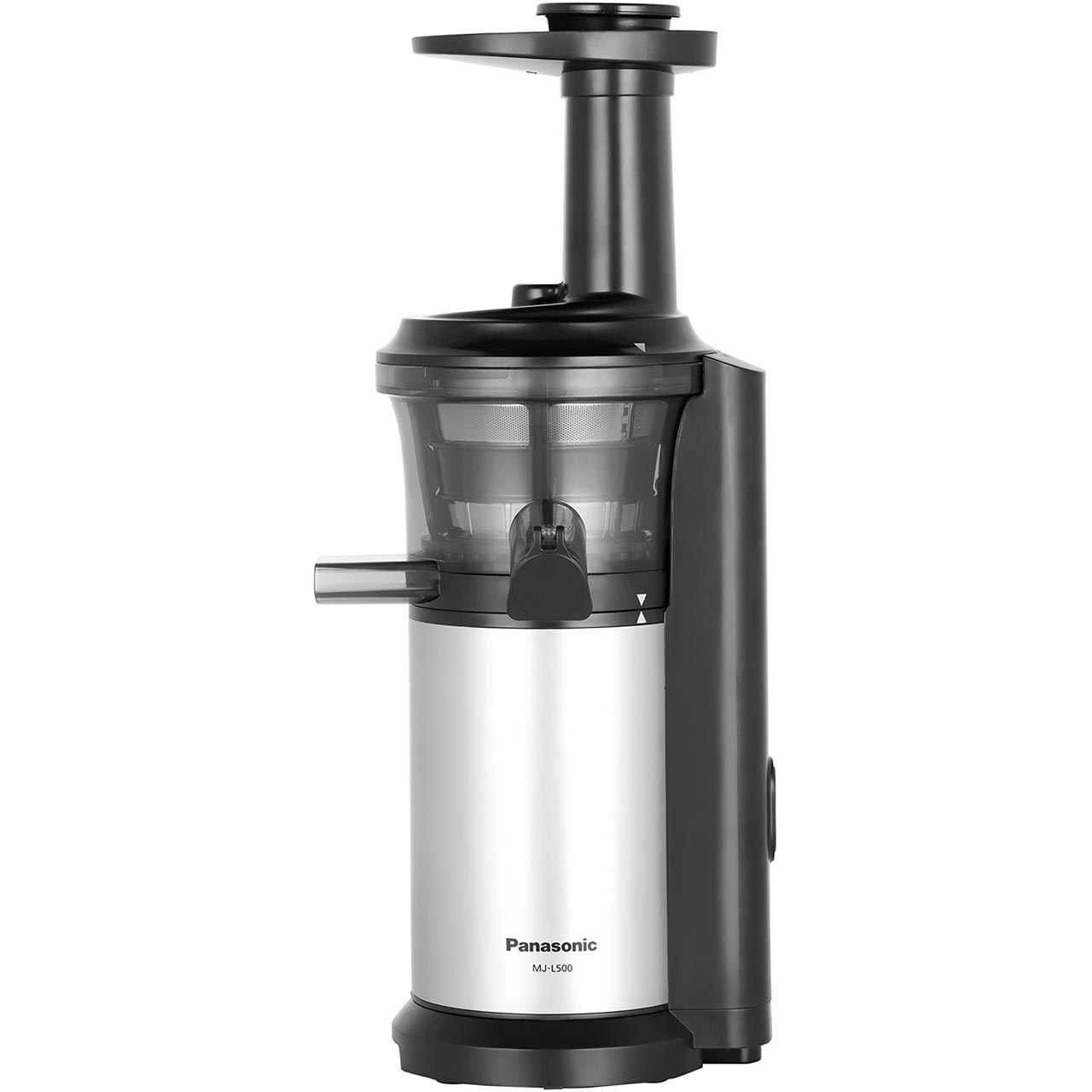 Panasonic Mj L500sxc Slow Juicer : Panasonic MJ-L500SXC Slow Juicer - Silver