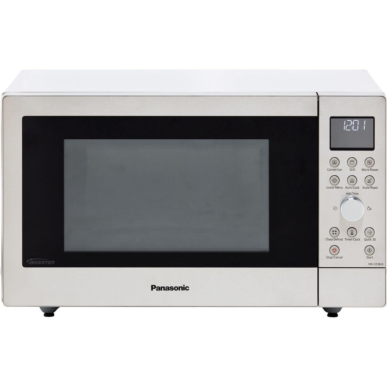 Panasonic Nn Cd58jsbpq 27 Litre Combination Microwave Oven Silver Si