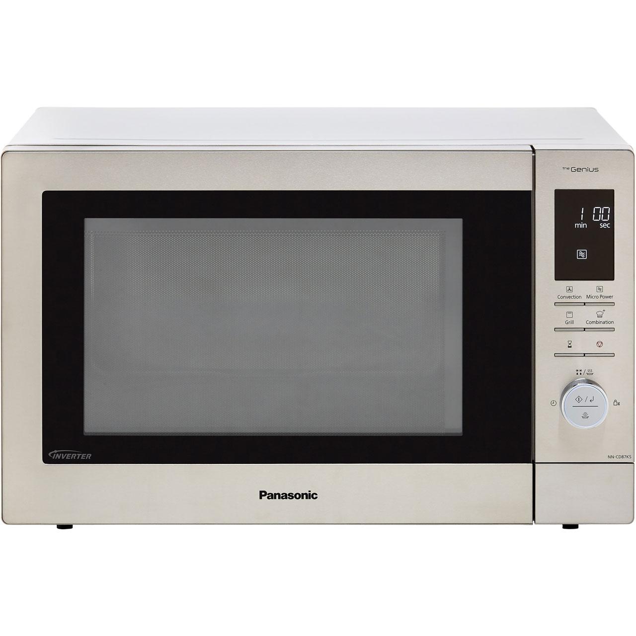 Panasonic Nn Cd87ksbpq 34 Litre Combination Microwave Oven Stainless Steel Ss