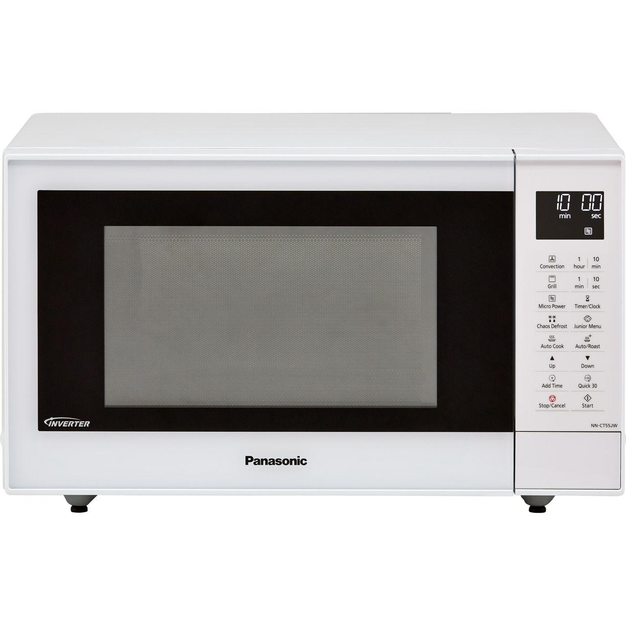 Panasonic Nn Ct55jwbpq 27 Litre Combination Microwave Oven White Wh