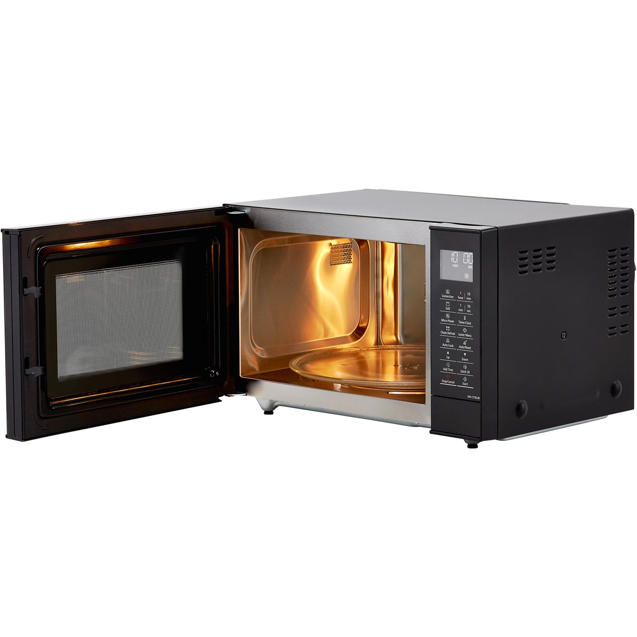 Panasonic NN-CT56JBBPQ 1000 Watt Microwave Black New From