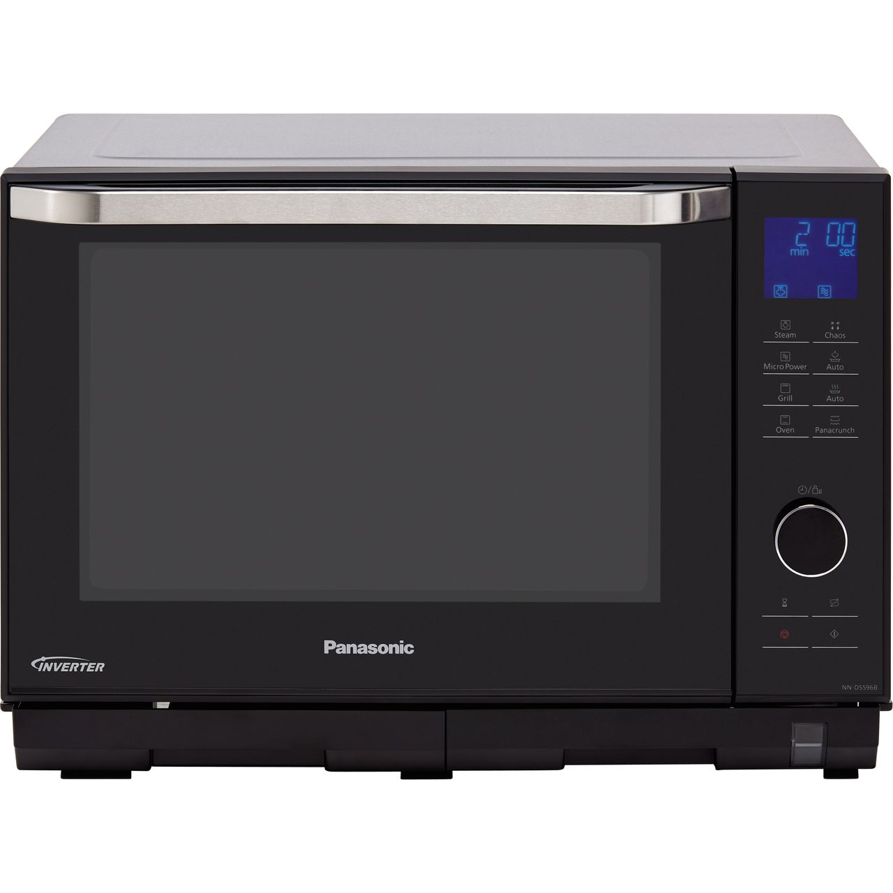 Panasonic 4in1 Steam Nn Ds596bbpq 27 Litre Combination Microwave Oven Black