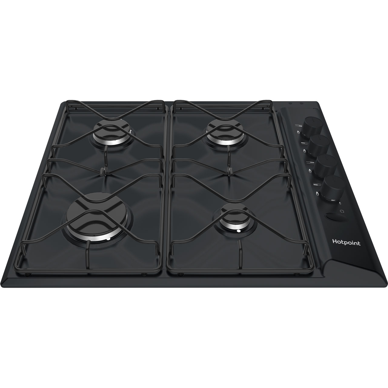 Hotpoint PAS642H Integrated Gas Hob in Black