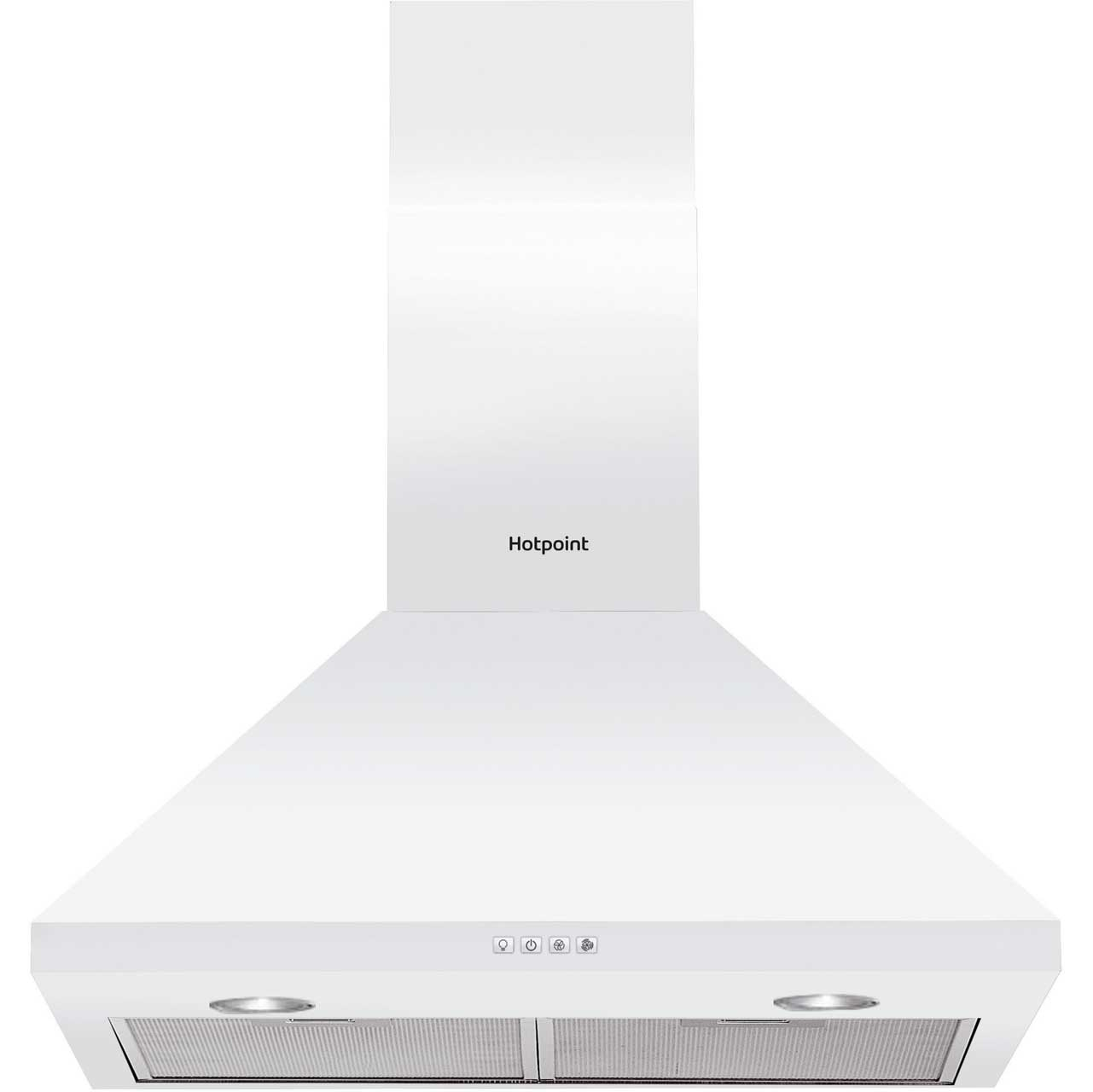 Hotpoint PHPC64FAMW Integrated Cooker Hood in White