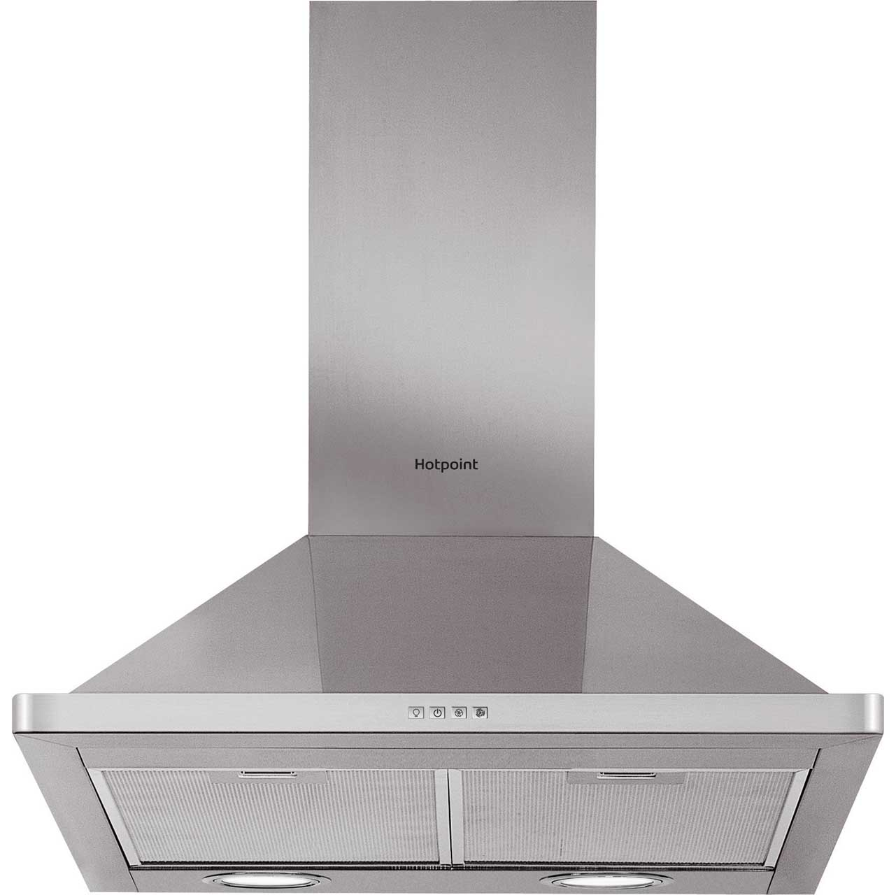 Hotpoint PHPN64FAMX Integrated Cooker Hood in Stainless Steel