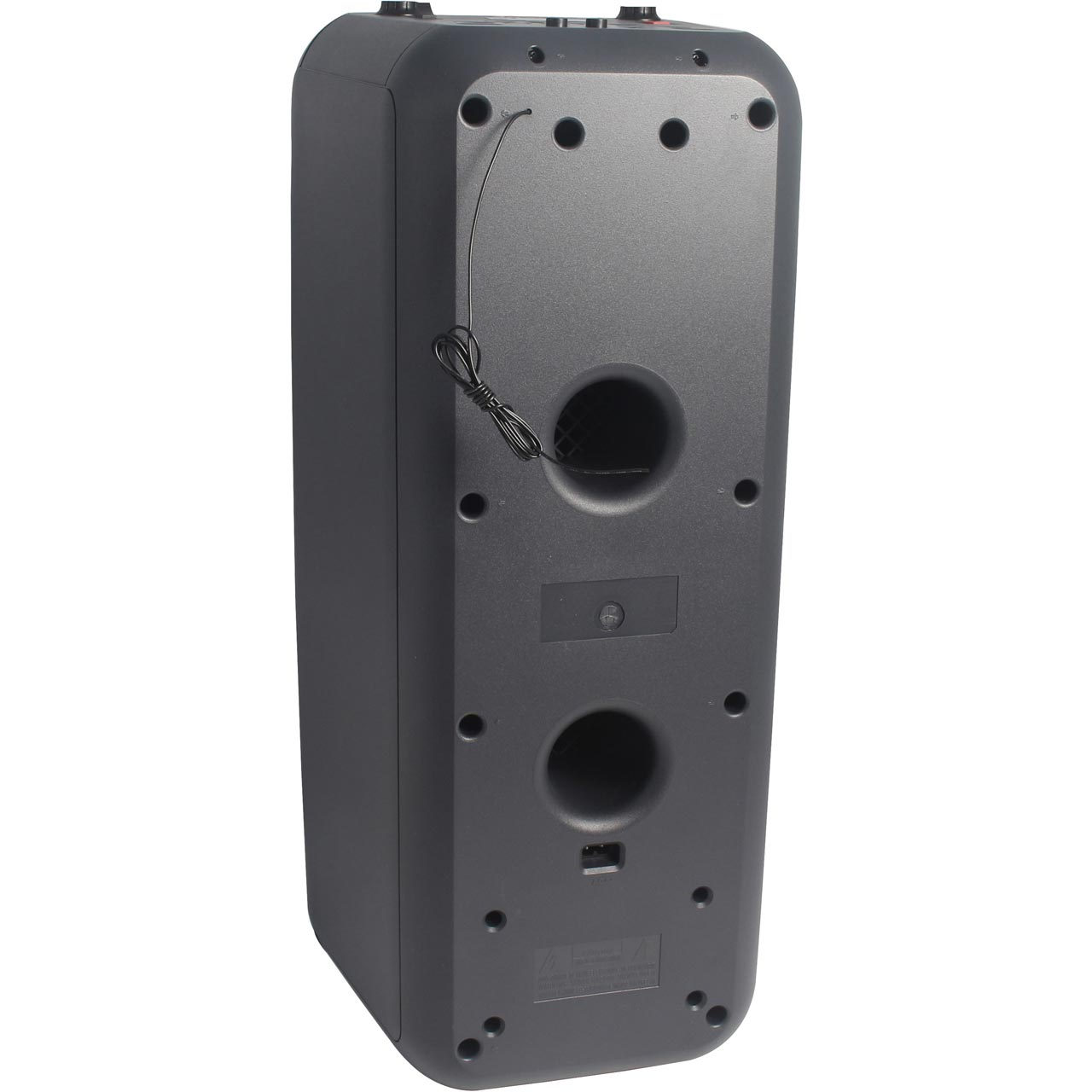 Sharp Audio Ps 920 Party Speaker Free Standing Charcoal