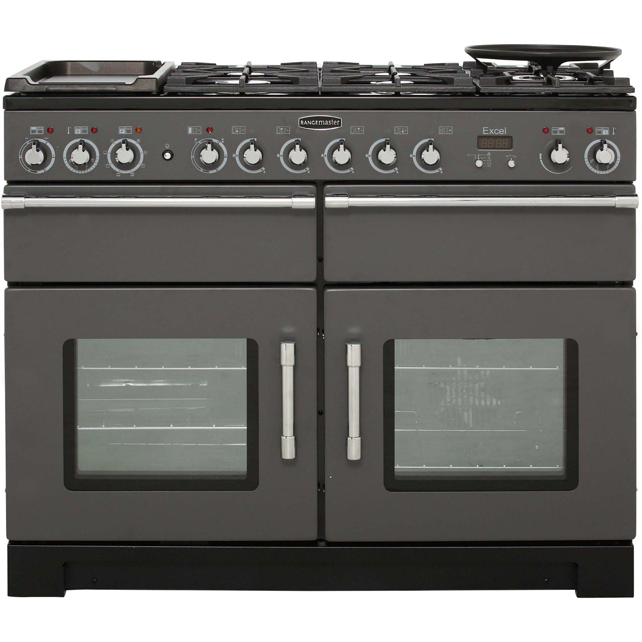 rangemaster excel exl110dffsl c 110cm dual fuel range. Black Bedroom Furniture Sets. Home Design Ideas