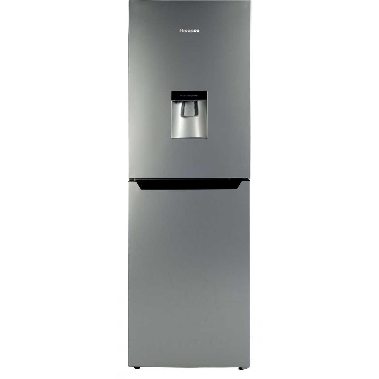 Hisense RB292F4WG1 Free Standing Fridge Freezer Frost Free in Silver