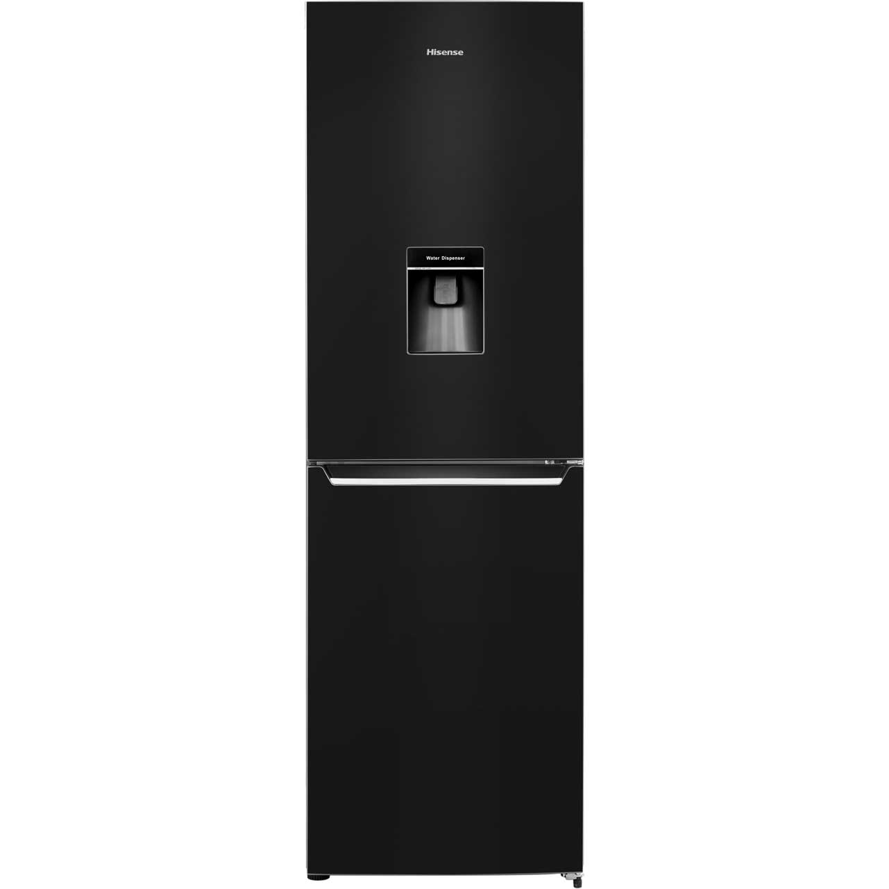 Hisense RB381N4WB1 Free Standing Fridge Freezer Frost Free in Black