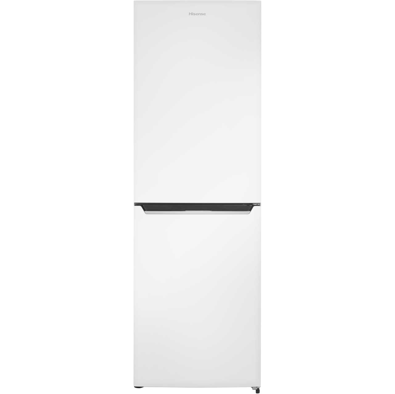 Hisense RB385N4EW1 Free Standing Fridge Freezer Frost Free in White