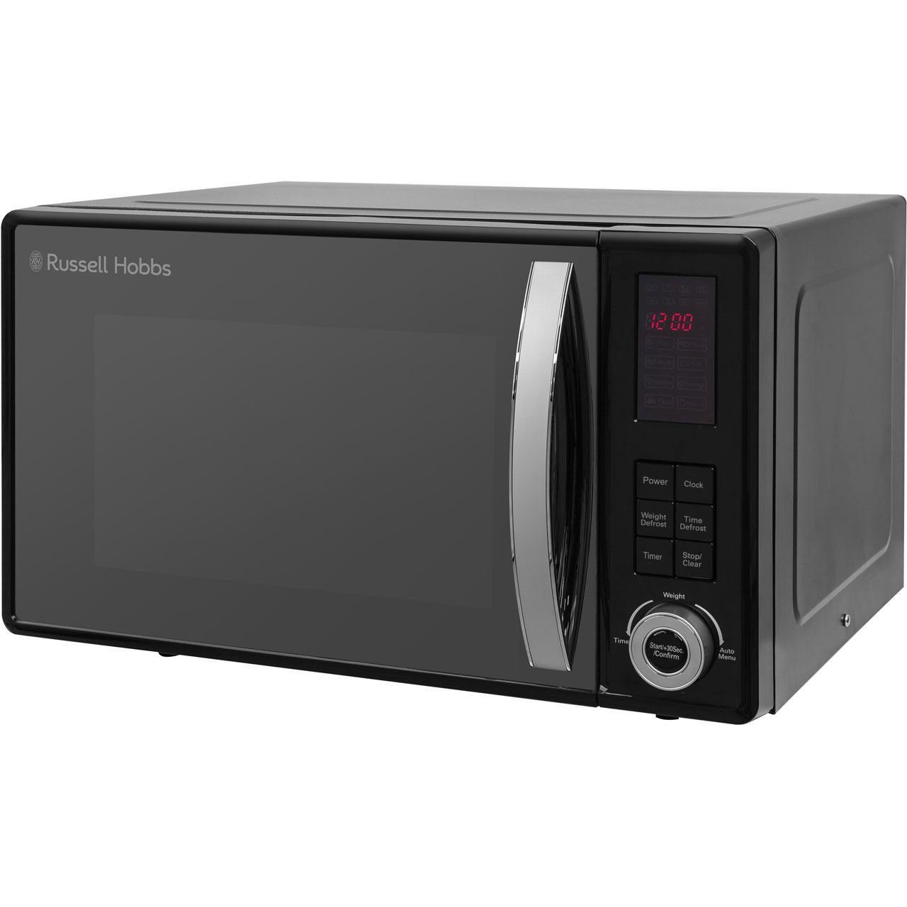 Interior Size 800 X 993 Type: Russell Hobbs Microwaves RHM2362B-G 800 Watt Microwave