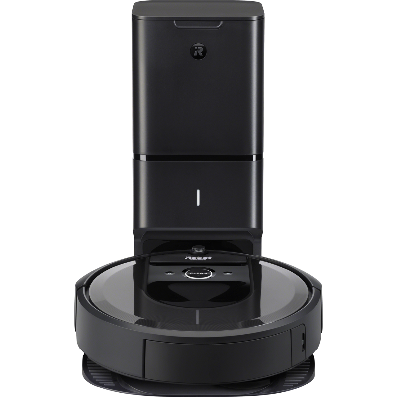 iRobot Roomba I7558+ Bagless Robotic Vacuum Cleaner with Auto Dirt Disposal  System - Charcoal