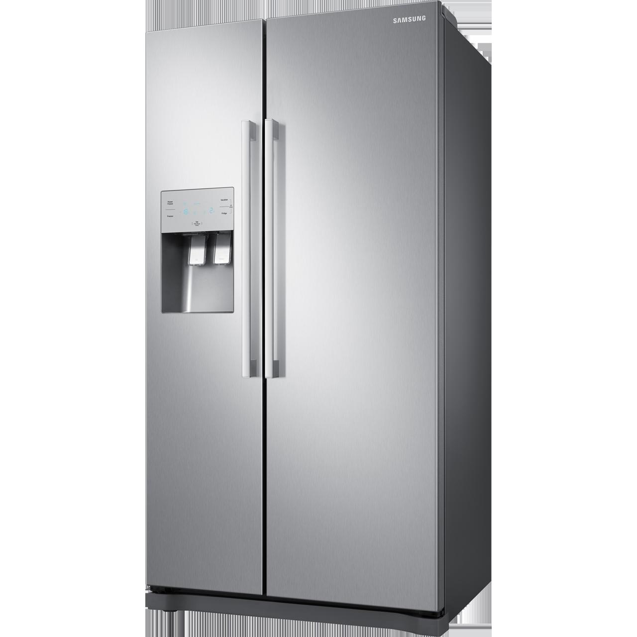 Samsung RS3000 RS50N3513SL American Fridge Freezer - Clean Steel - A+ Rated