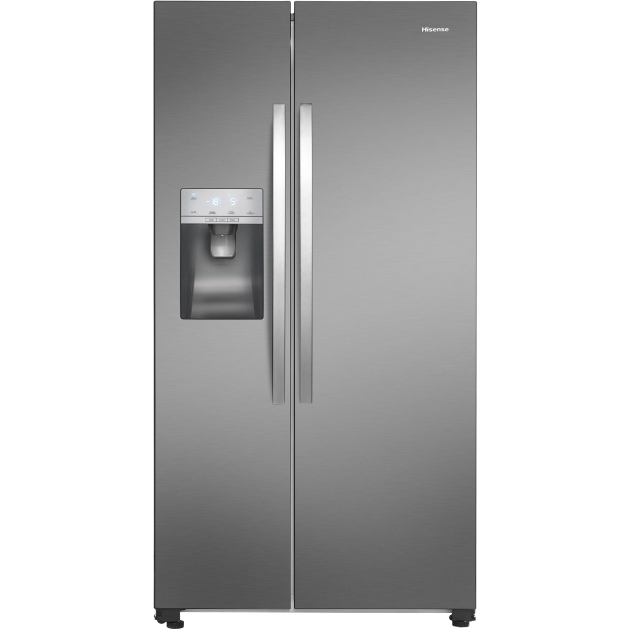 What Is An American Fridge Freezer Part - 21: Hisense RS696N4II1 American Fridge Freezer - Stainless Steel Effect