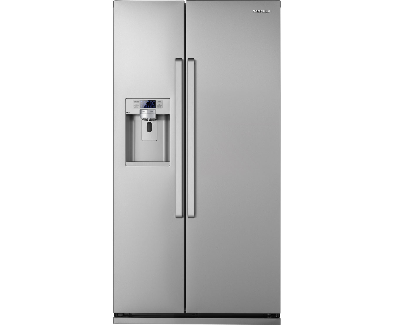 Samsung GSeries RSG5UCRS Free Standing American Fridge Freezer in Stainless Steel