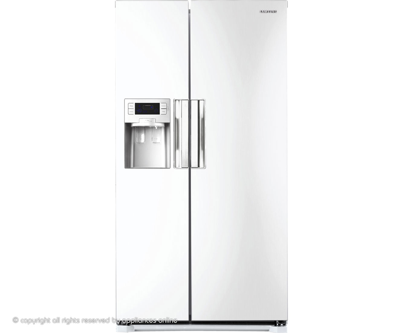 Samsung H-Series RSH7UNSW American Fridge Freezer - White