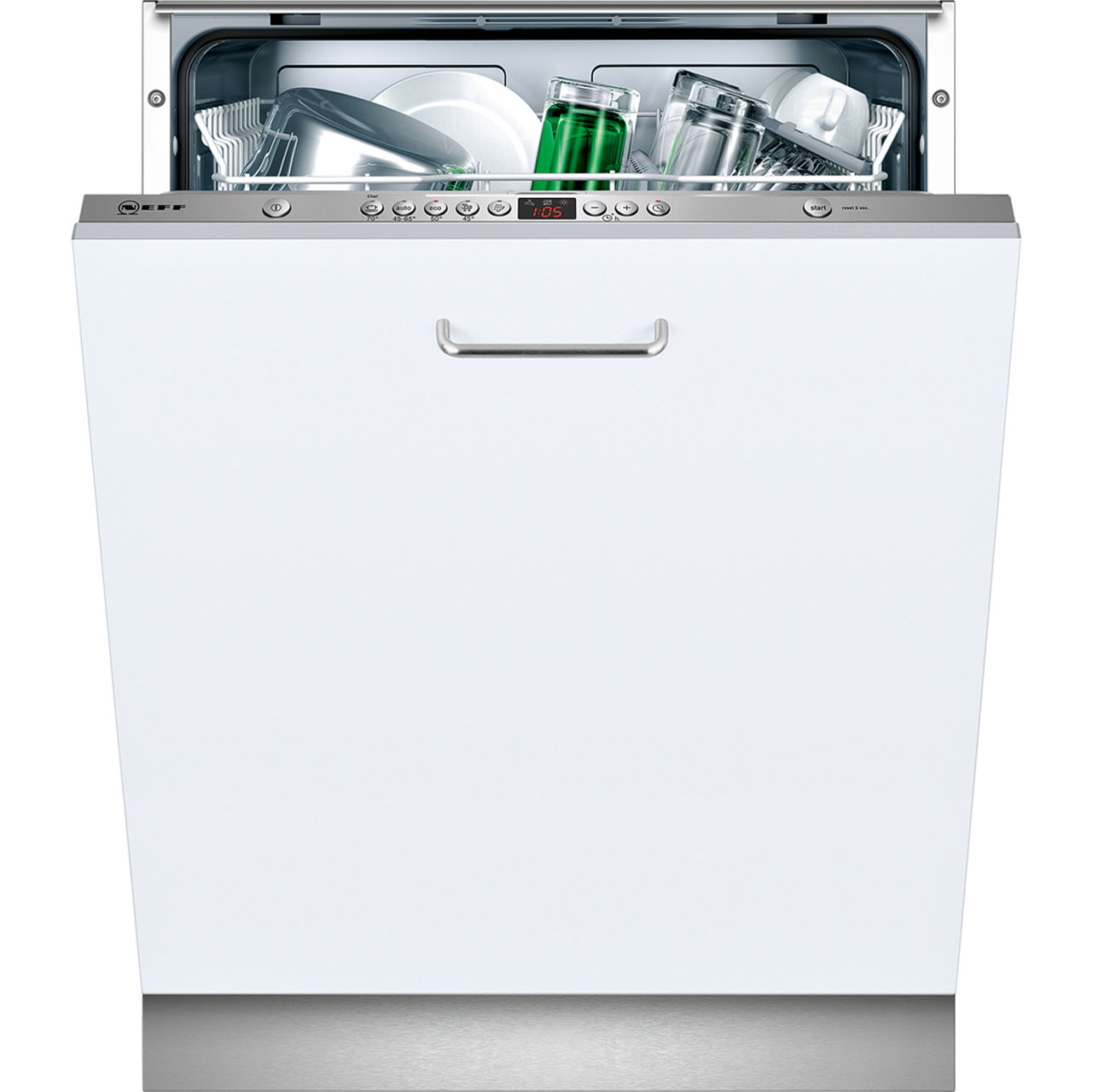 Neff S51L53X0GB Fully Integrated Standard Dishwasher - Stainless Steel