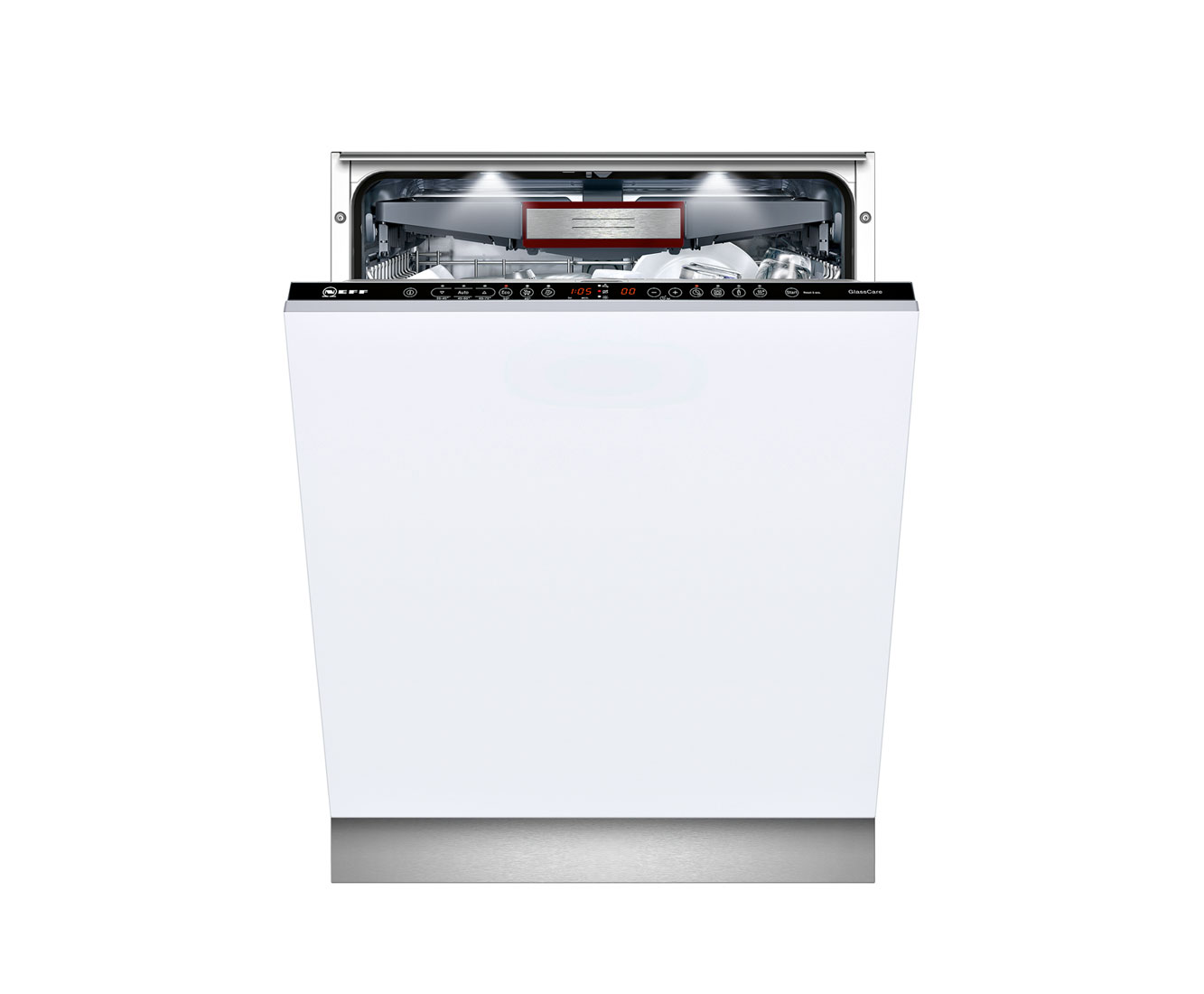 Neff S51T69X3GB Fully Integrated Standard Dishwasher - Stainless Steel