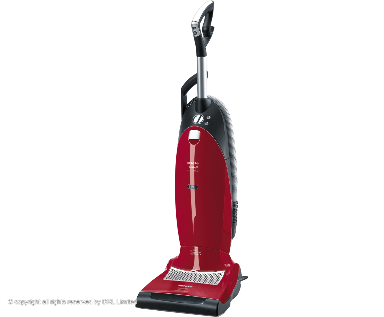 Miele Cat And Dog S7260 Bagged Upright Vacuum Cleaner with Pet Hair Removal
