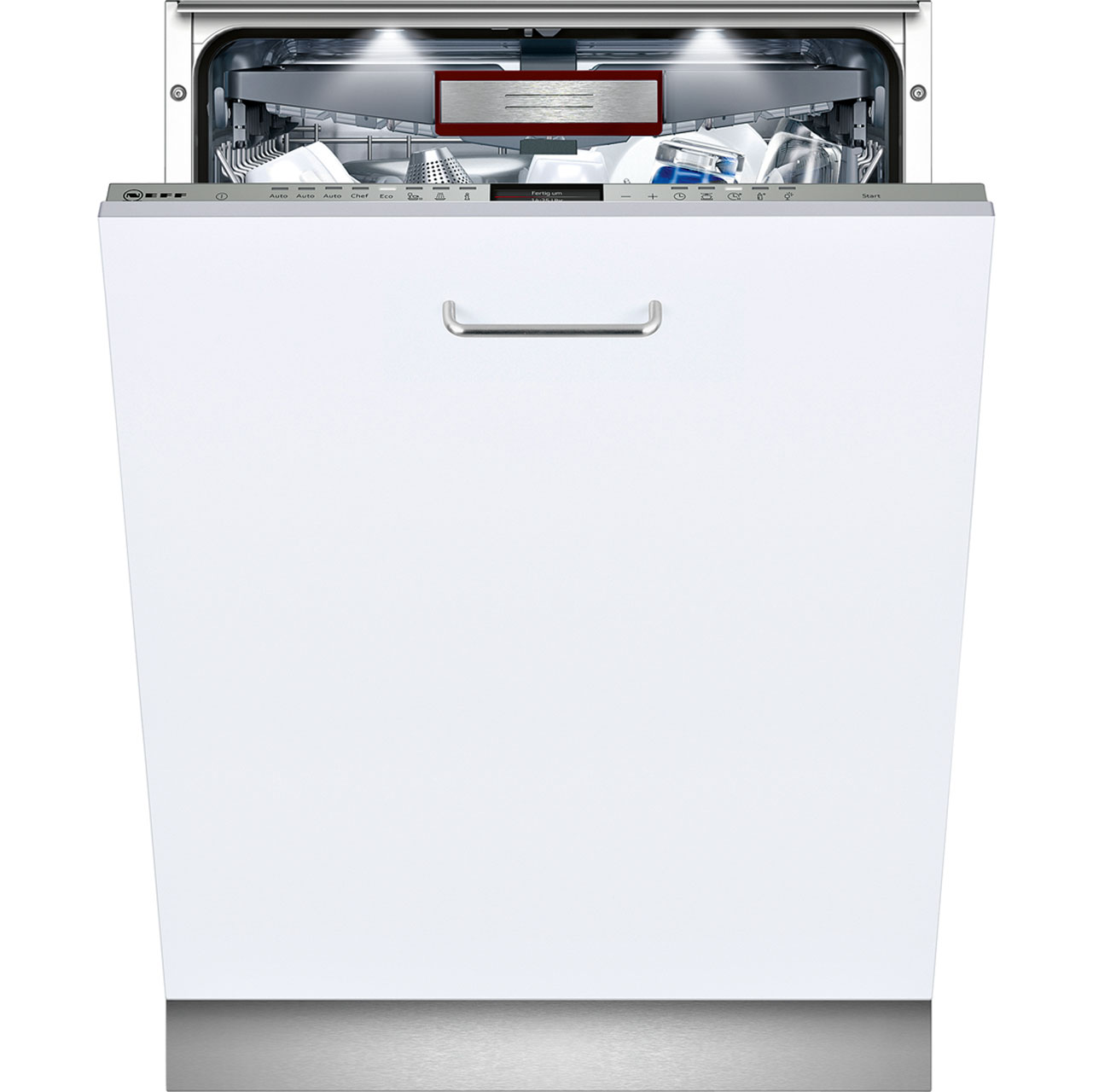 Neff Extra Height S727P70Y0G Integrated Dishwasher in Stainless Steel