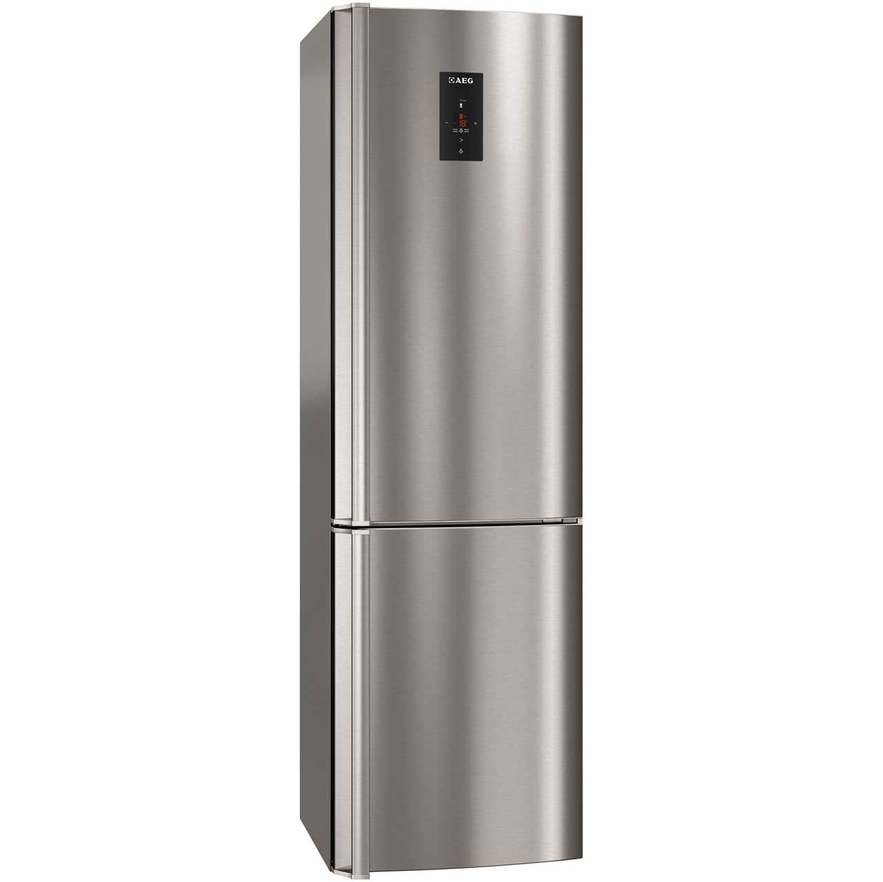 AEG S83520CMX2 Free Standing Fridge Freezer Frost Free in Stainless Steel