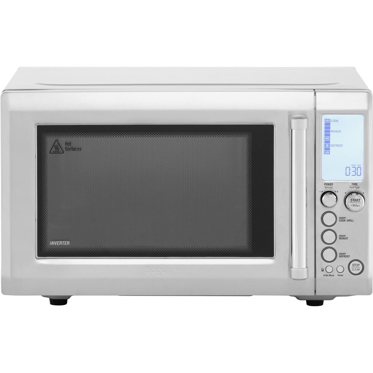 Sage Bmo700bss The Quick Touch Crisp 1000 Watt Microwave