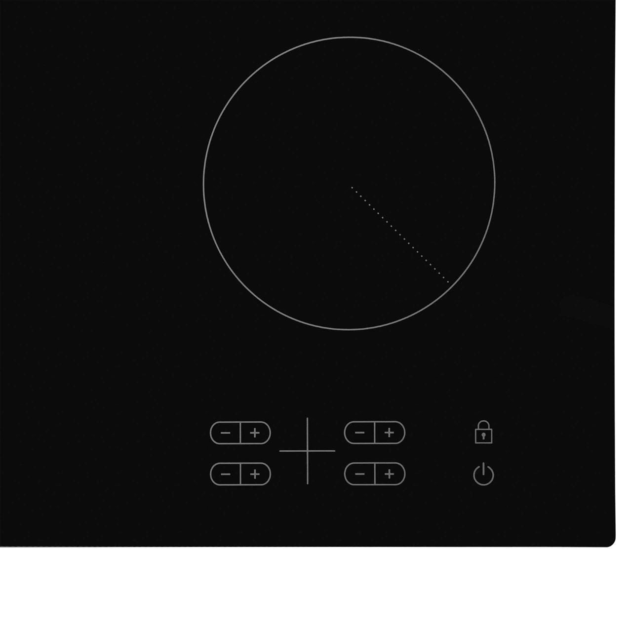 Samsung C61R2AEE 58cm Ceramic Hob - Black